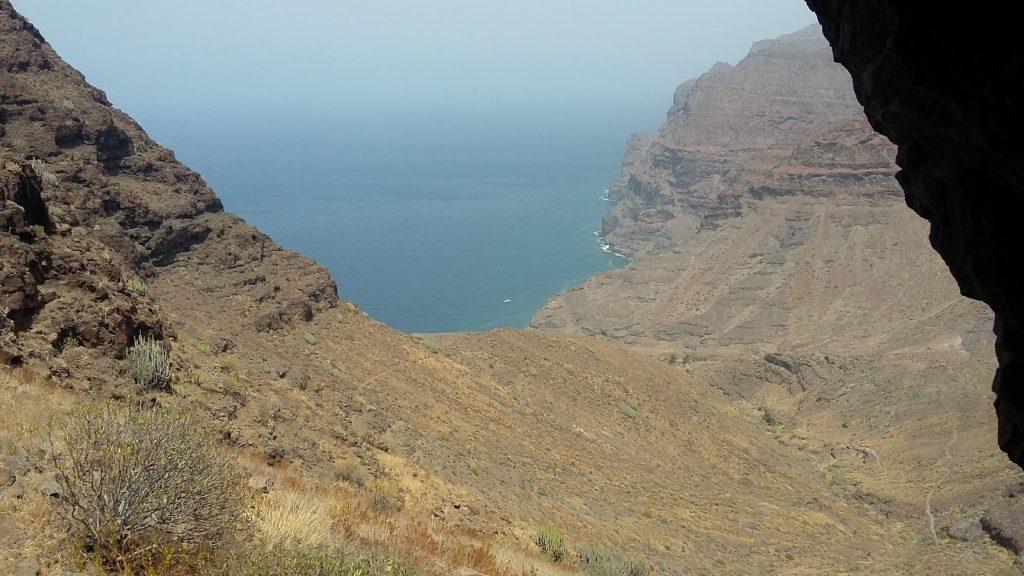 Vista Del Valle desde la cueva