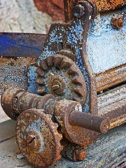 maquina oxidada