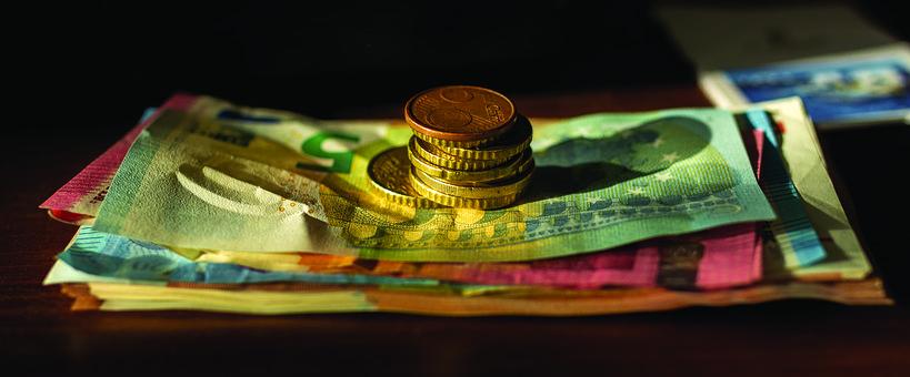 Entradas de dinero