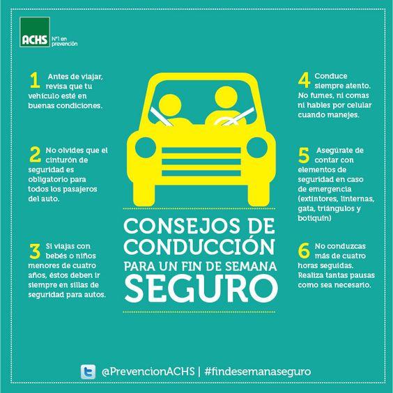 Ideas para conducir con seguridad