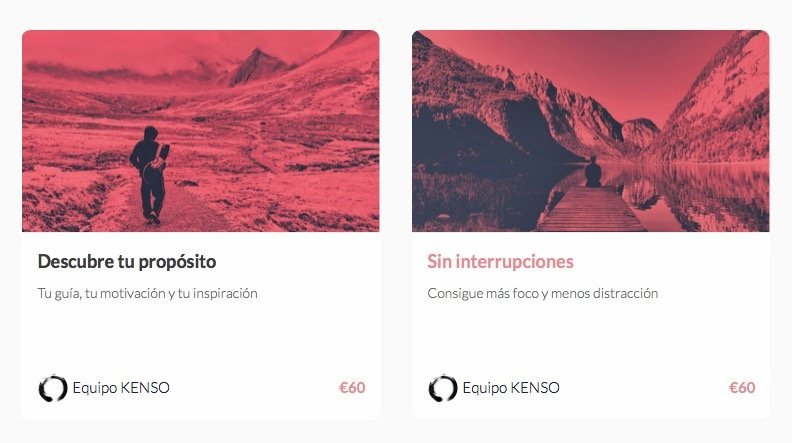 Cursos online Kenso El Canasto