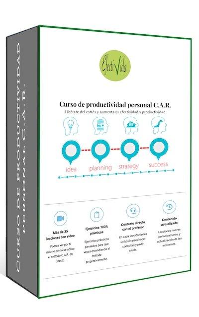 Carátula curso productividad personal CAR