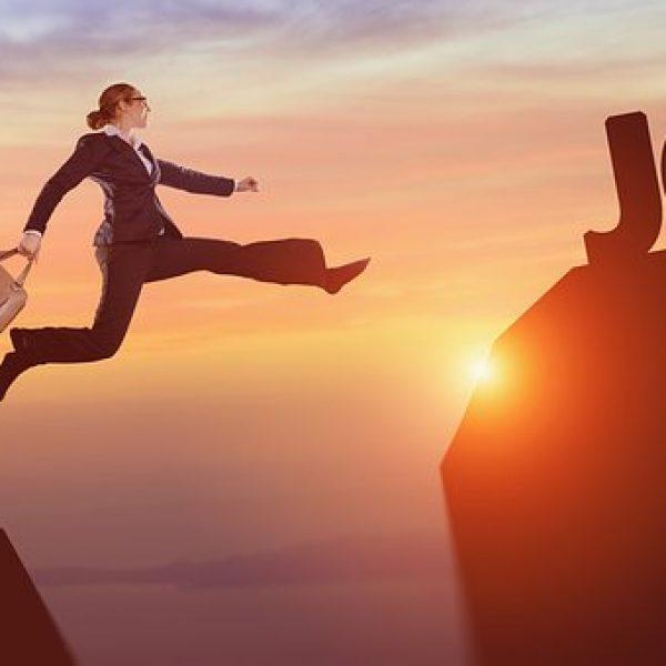 Buscar trabajo es como dar un salto
